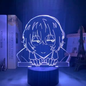 Osamu Dazai Led Anime Lamp (Bungo Stray Dogs)