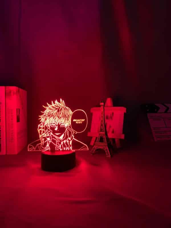 Satoru Gojo Unlimited Void Anime Lamp (Jujutsu Kaisen)