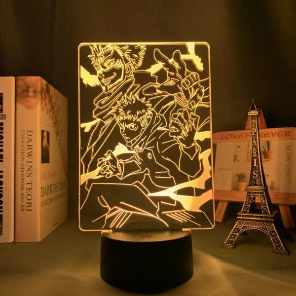 Ryomen Sukuna Team Led Anime Lamp (Jujutsu Kaisen)