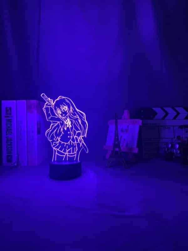 Taiga Aisaka Led Anime Lamp (Toradora)