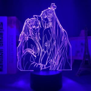 Lan Zhan Wei Ying Led Anime Lamp (Mo Dao Zu Shi)