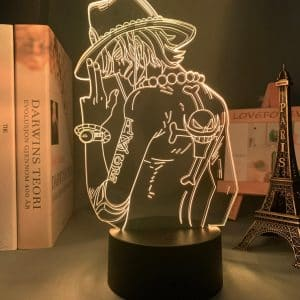 Portgas D. Ace Led Anime Lamp (One Piece)