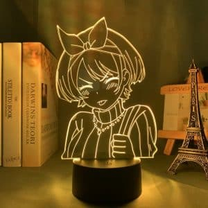Sarashina Ruka Led Anime Lamp (Rent a Girlfriend)