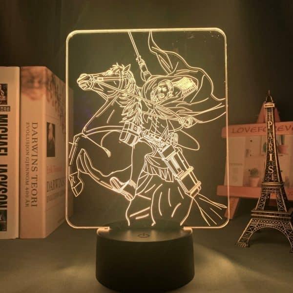 Erwin Smith Led Anime Lamp (Attack on Titan)