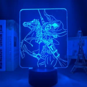 Erwin Smith führte Anime-Lampe (Angriff auf Titan)