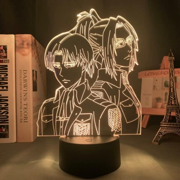 Hange Zoe Led Anime Lamp (Attack on Titan)