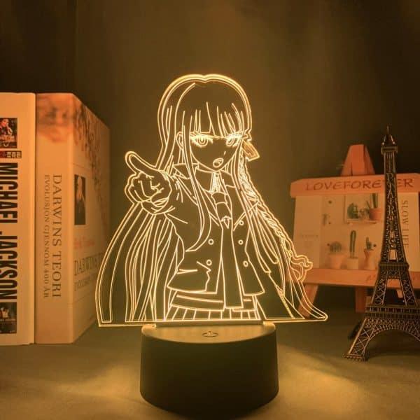 Kyoko Kirigiri Led Anime Lamp (Danganronpa)