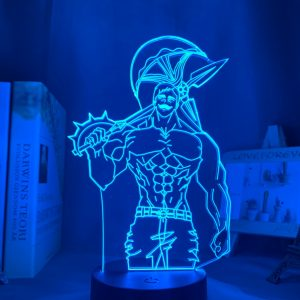 Escanor Led Anime Lamp (The Seven Deadly Sins)