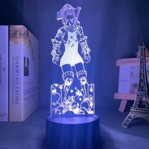 Jericho Standing Led Anime Lamp (The Seven Deadly Sins)