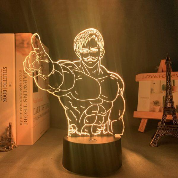 Escanor Finger Led Anime Lamp (The Seven Deadly Sins)