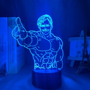 Escanor Finger Led Anime Lamp (The Seven Deadly Sins)