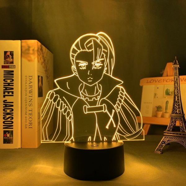 Jericho Led Anime Lamp (The Seven Deadly Sins)