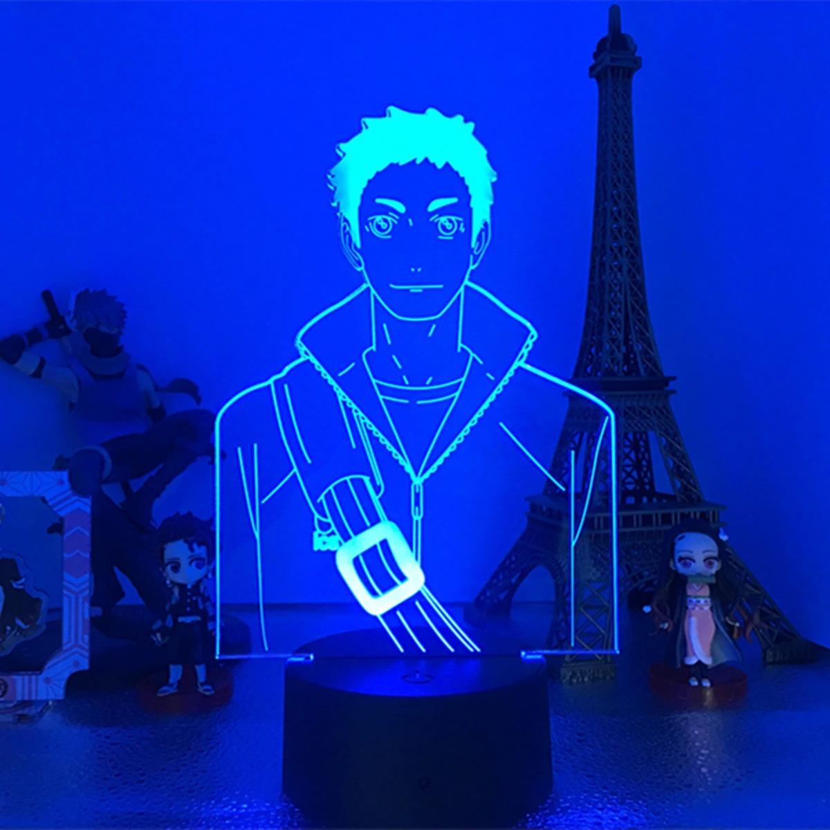 Daichi Sawamura 3D Illusion Led Lamp (Haikyuu)
