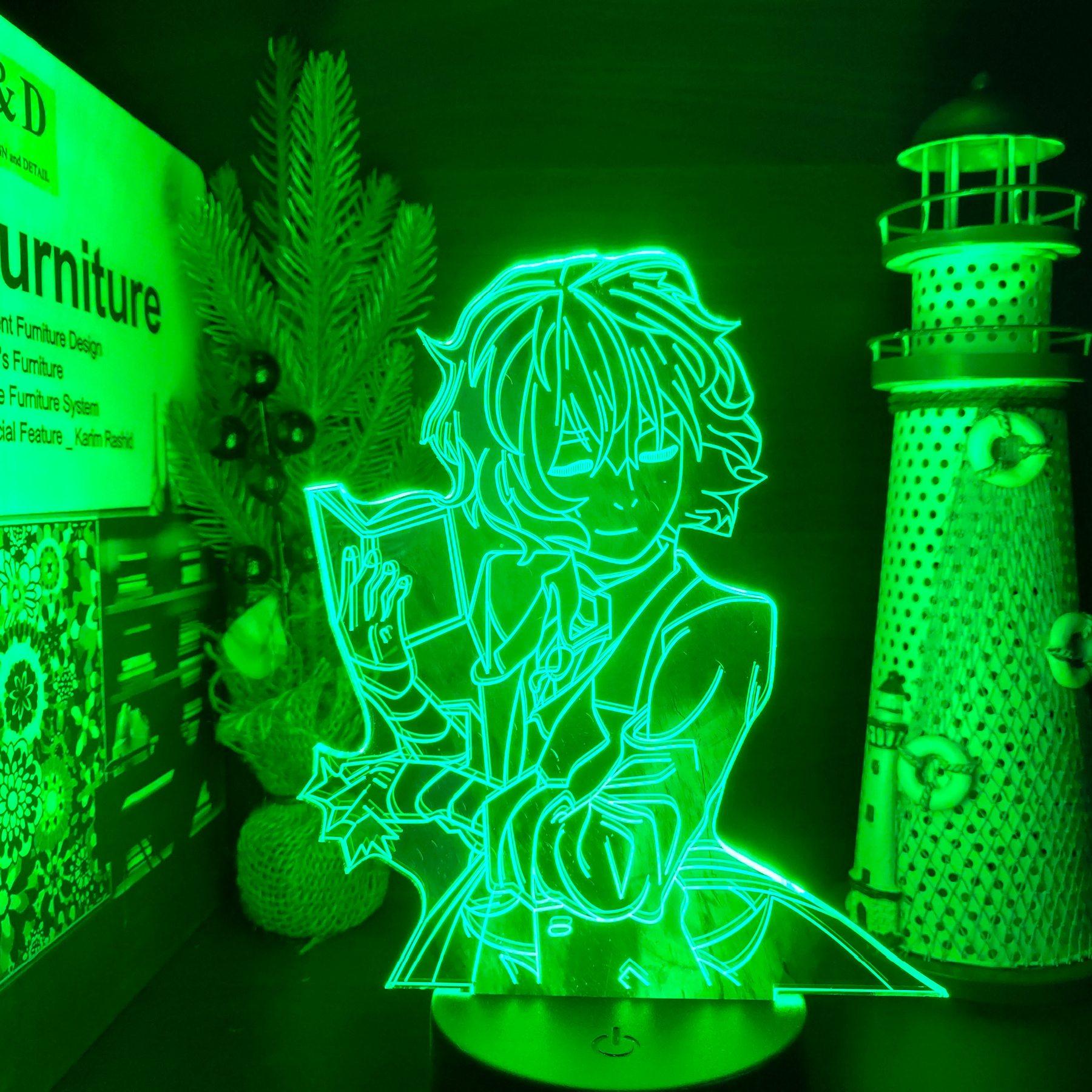 Dazai Book Led Anime Lamp (Bungo Stray Dogs)