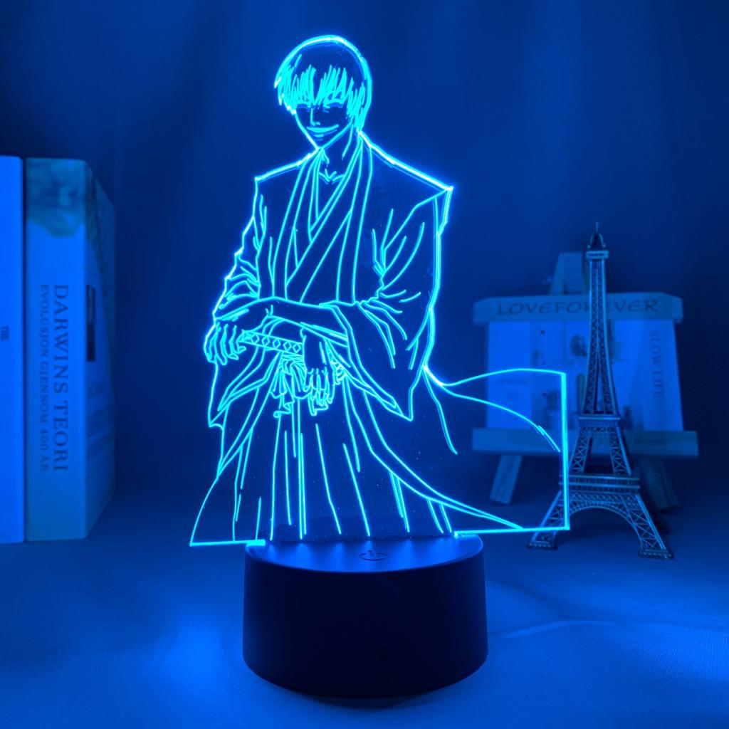Gin Ichimaru 3D Illusion Led Lamp (Bleach)
