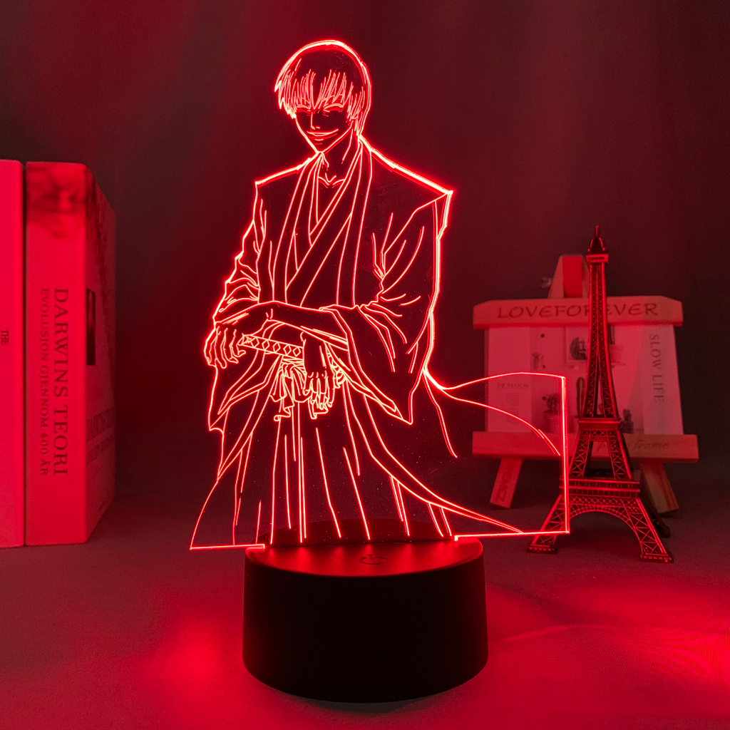 Gin Ichimaru 3D Illusion Led Lamp (Bleach)