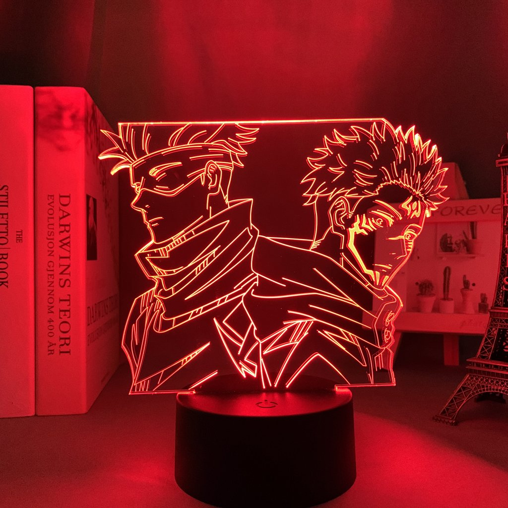 Gojo and Sukuna Led Anime Lamp (Jujutsu Kaisen)