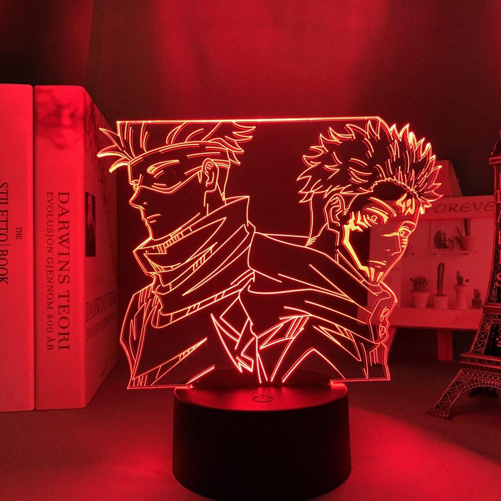 Gojo and Sukuna Led Anime Lamp (Jujutsu Kaisen)