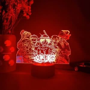 One Piece Team Led Anime Lamp (One Piece)