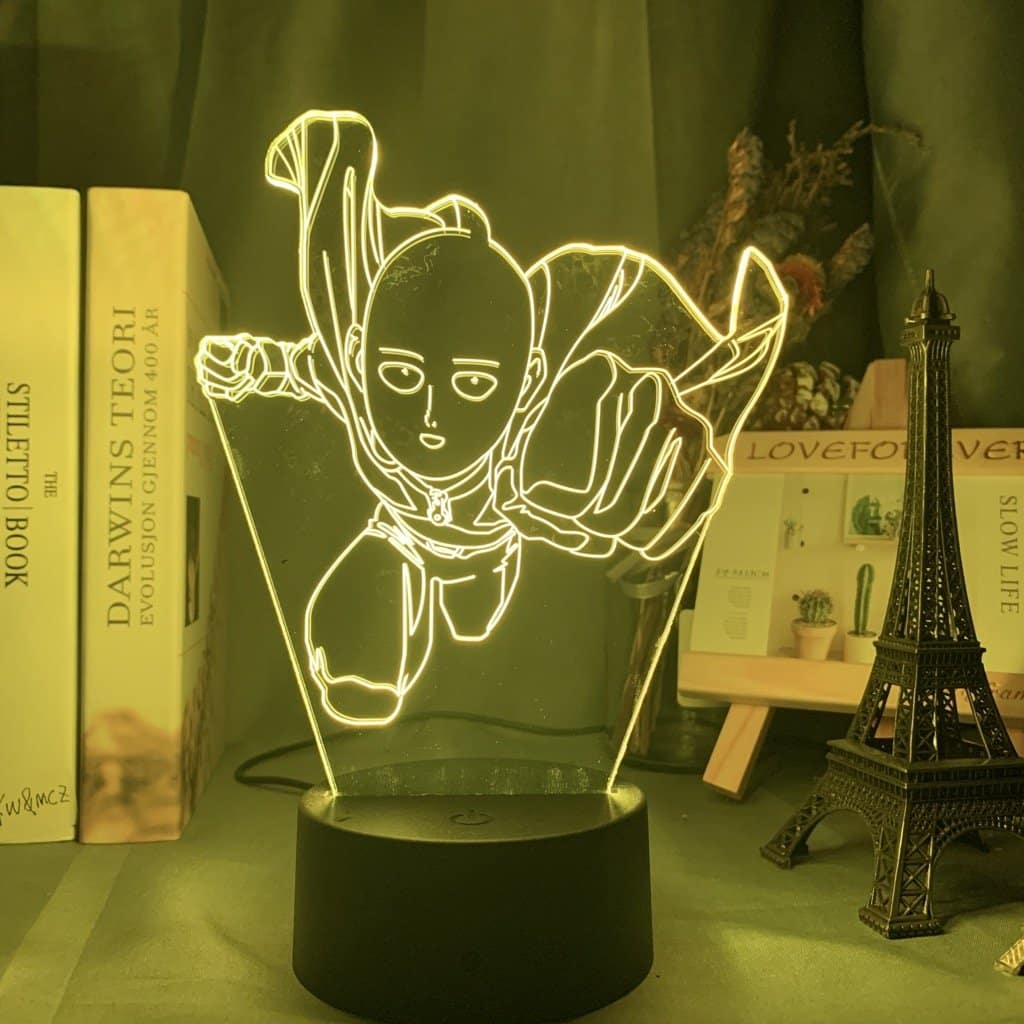 Saitama Led Anime Lamp (One Punch Man)