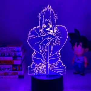 Sasuke Curse Mark Led Anime Lamp (Naruto)