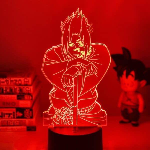 Sasuke Curse Mark Led Anime Lamp (Naruto)