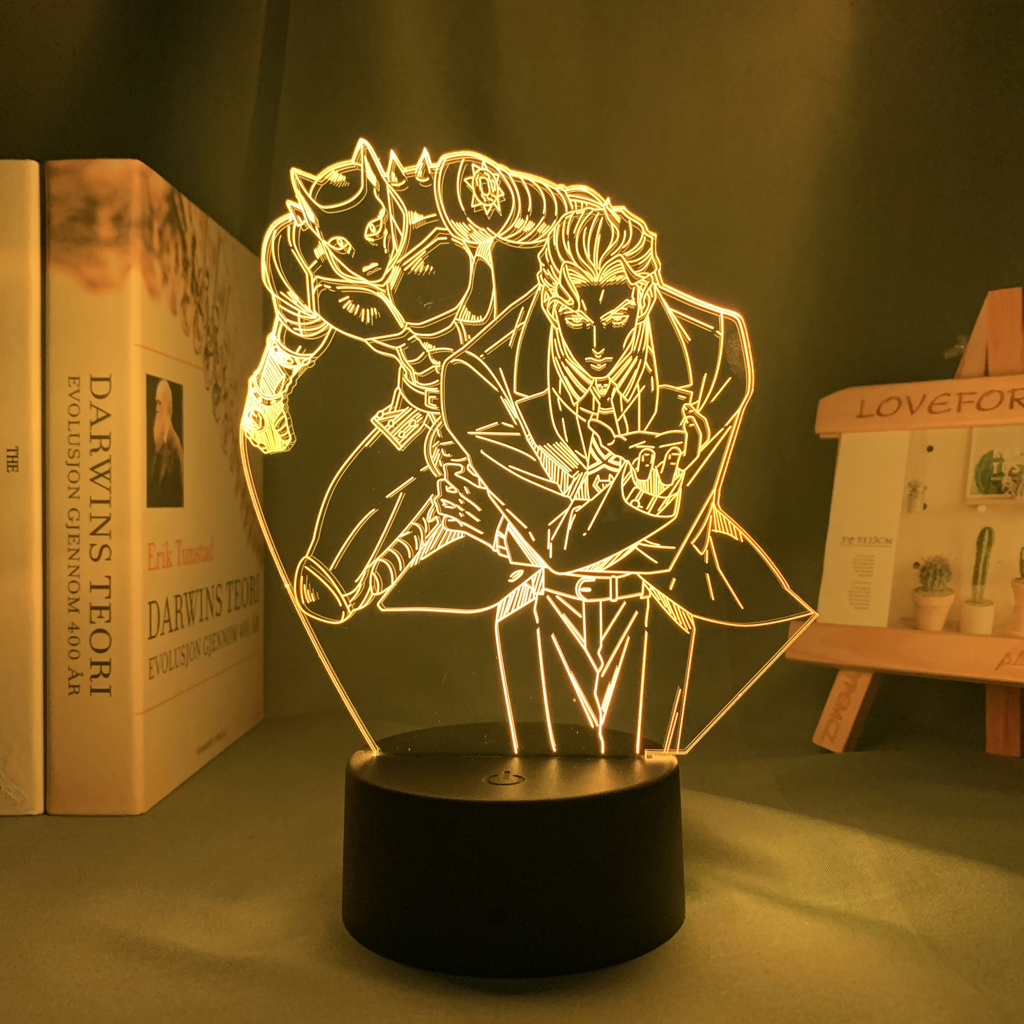 Yoshikage Kira Led Anime Lamp (JoJo's Bizarre Adventure)