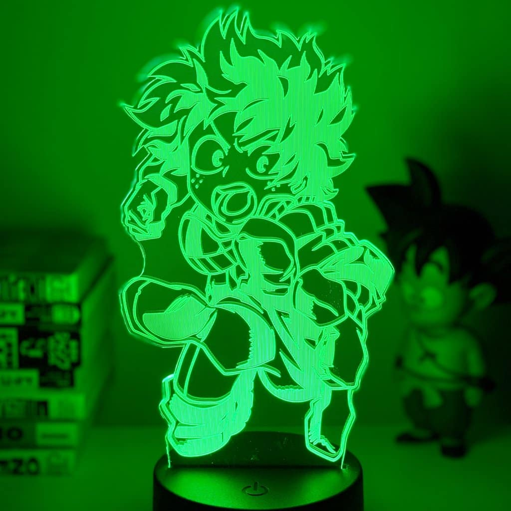 Izuku Midoriya 3D Illusion Led Lamp (My Hero Academia)