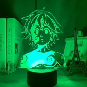Meliodas Led Anime Lamp (The Seven Deadly Sins)