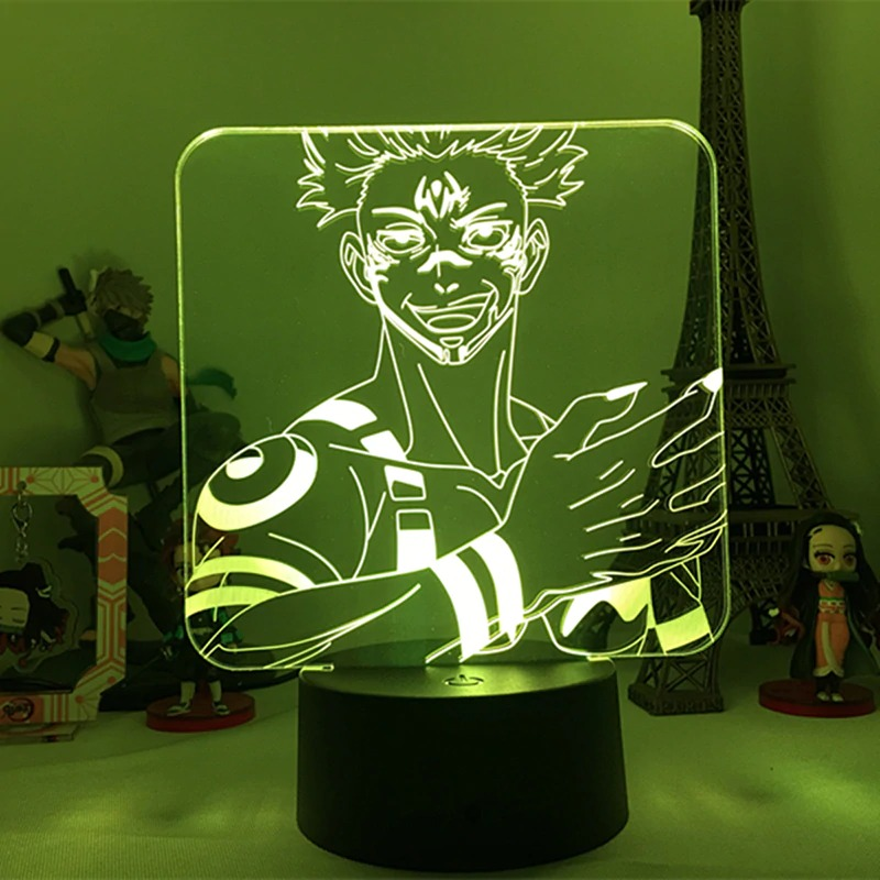 Sukuna Claws Led Anime Lamp (Jujutsu Kaisen)