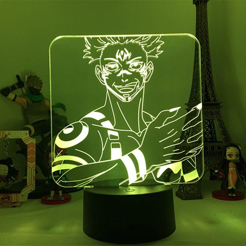 Sukuna Claws Led Anime Lamp (Jujutsu Kaisen)