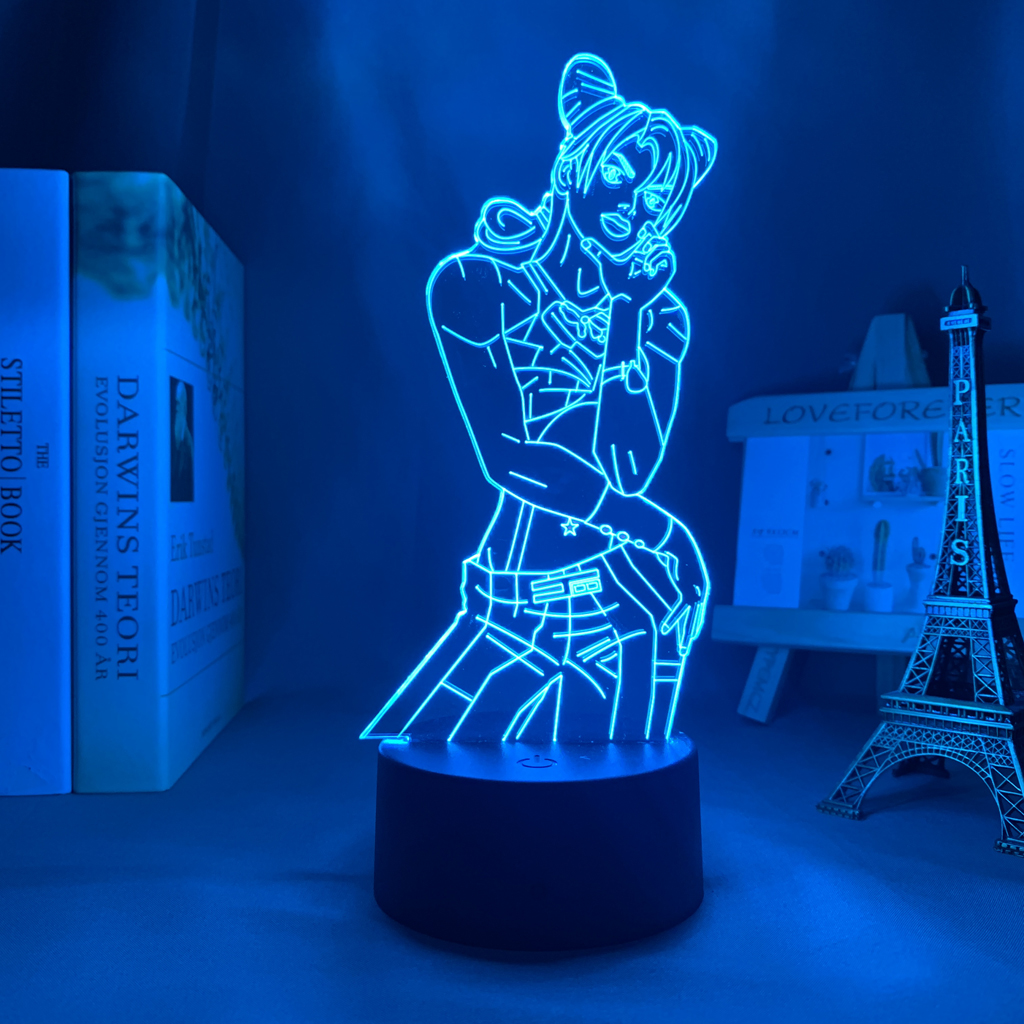 Jolyne Cujoh Led Anime Lamp (JoJo's Bizarre Adventure)
