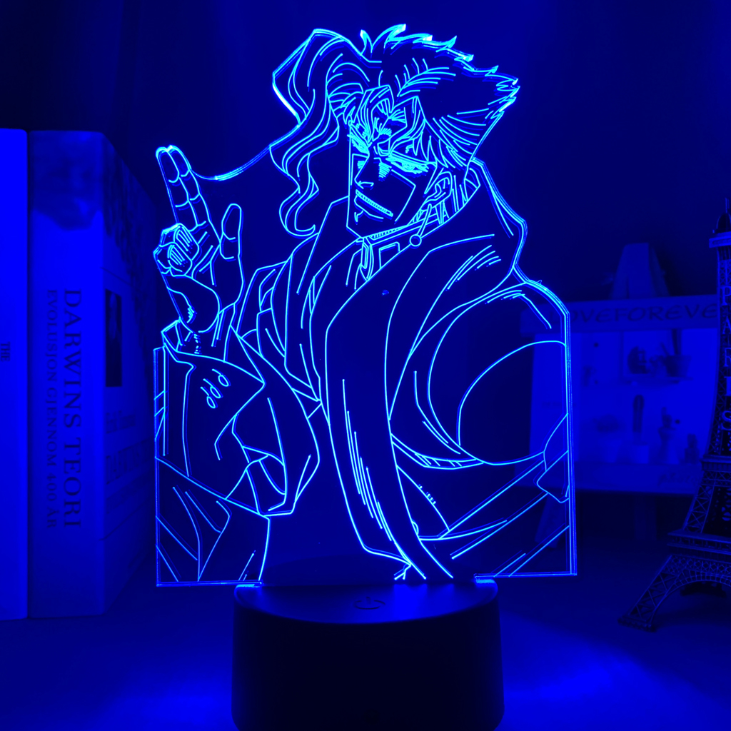 Noriaki Kakyoin Led Anime Lamp (JoJo's Bizarre Adventure)