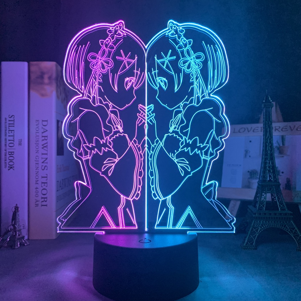 Ram Led Anime Lamp (Re:Zero)