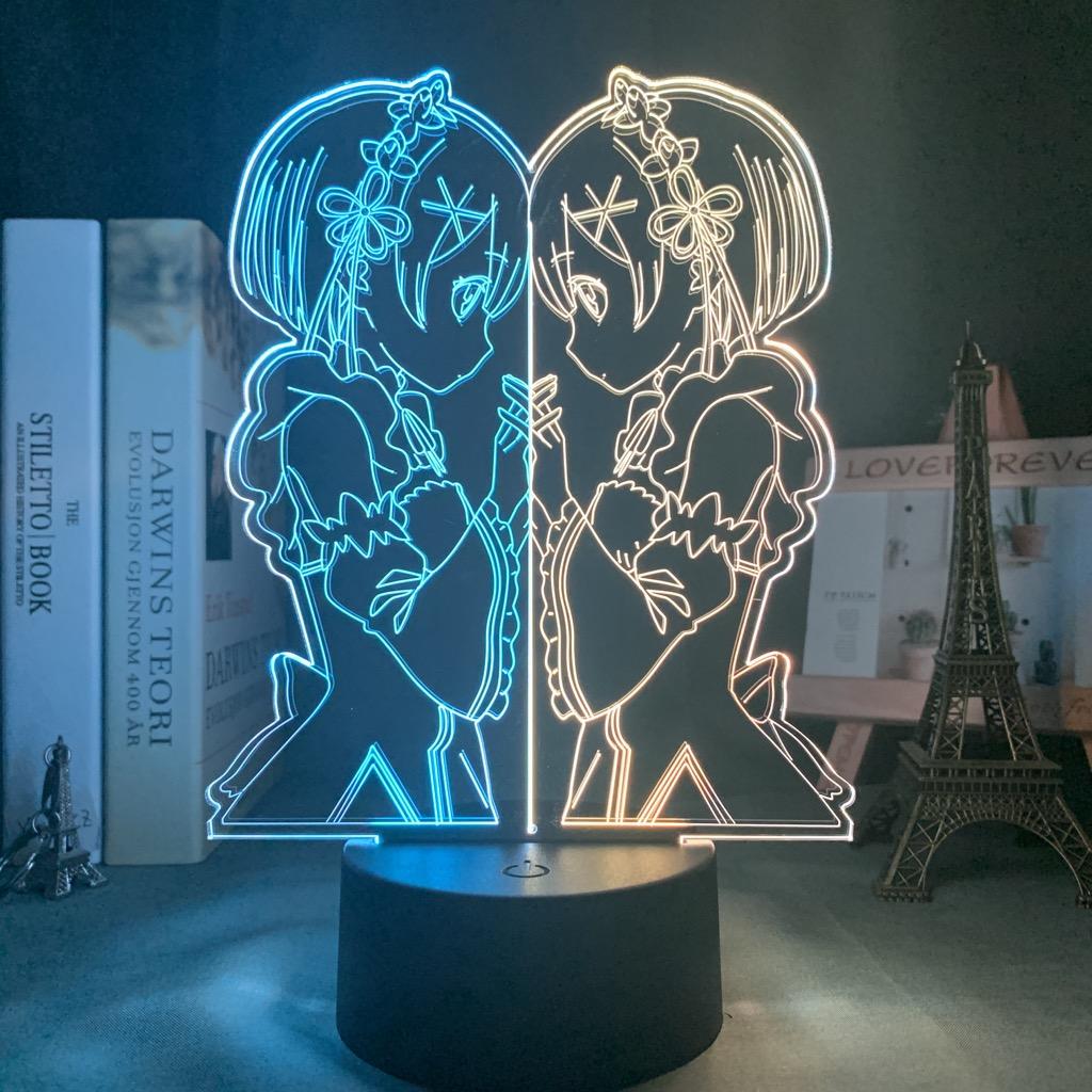Ram Led Anime Lamp (Re:Zero)