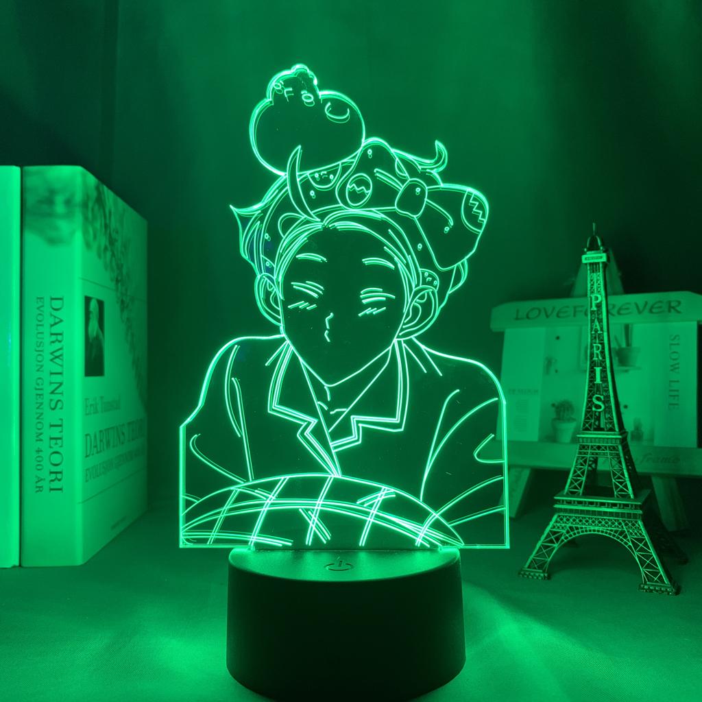 The Devil's Temptation Led Anime Lamp