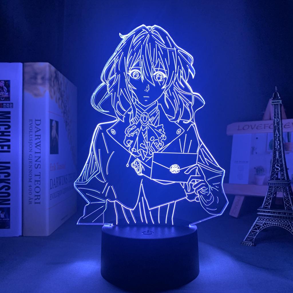 Violet Evergarden Led anime lamp