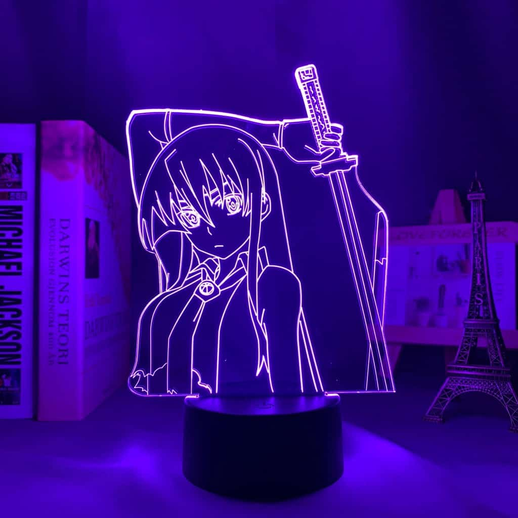 Akame Led Anime Lamp (Akame Ga Kill!)