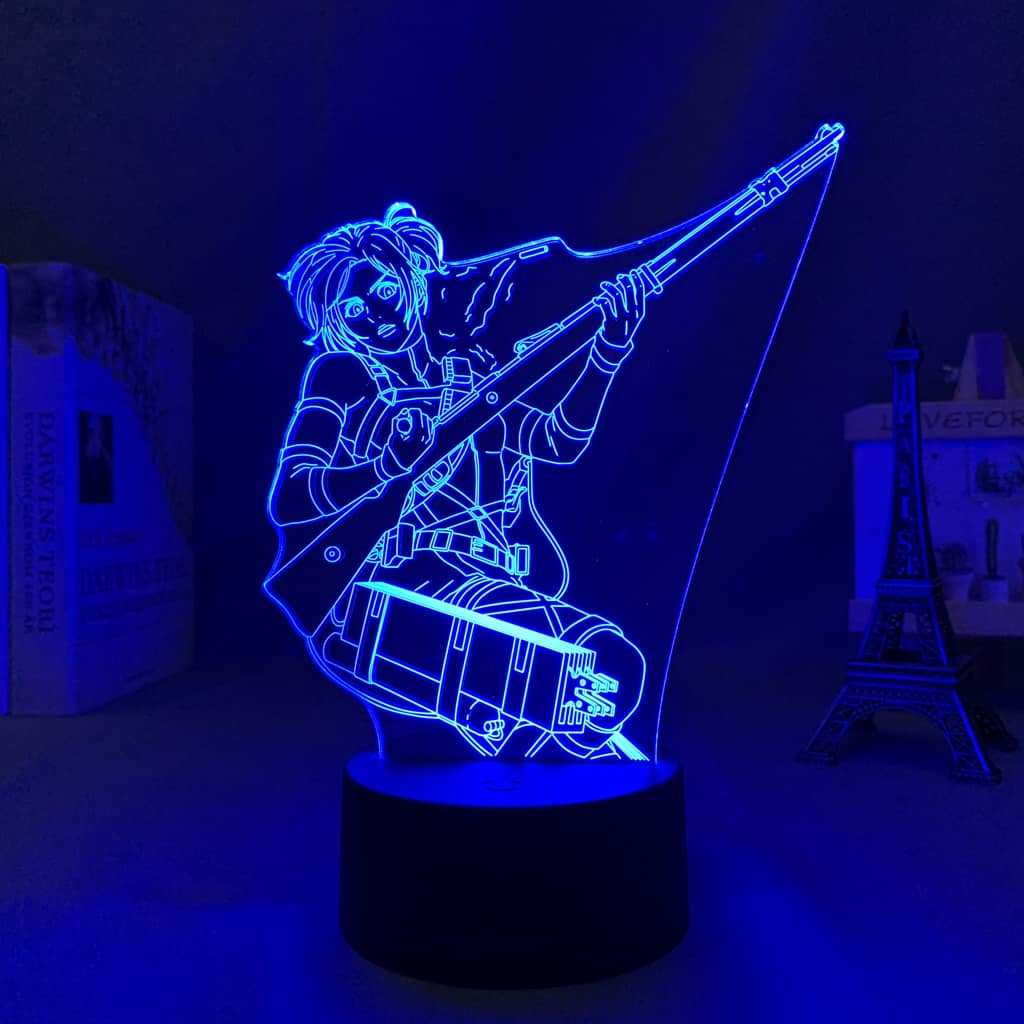 Sasha Blouse Led Anime Lamp (Attack on Titan)
