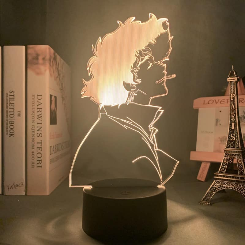 Spike Spiegel Led Anime Lamp (Cowboy Debop)